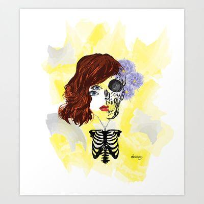 ~ lótus Art Print by alexisdarkness - $18.72