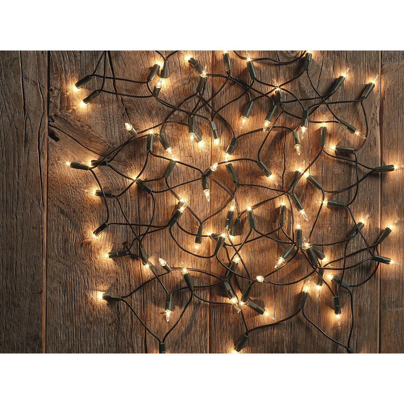 80 Fairy Lights Tree Decorations ASDA direct Fairy
