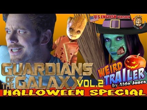 a weird halloween re edit of the sneak peek trailer for guardians of the galaxy - Halloween Trailers