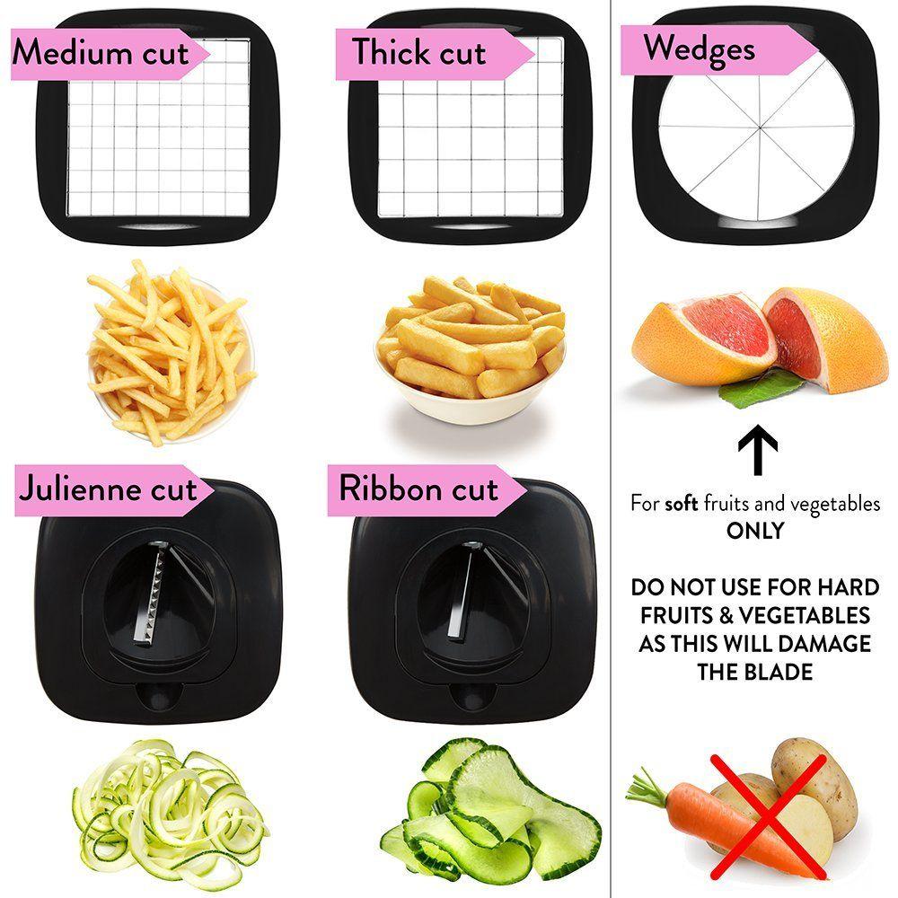 Amazoncom Vegetable Chopper Onion And Fruit Cutter 5 I 1