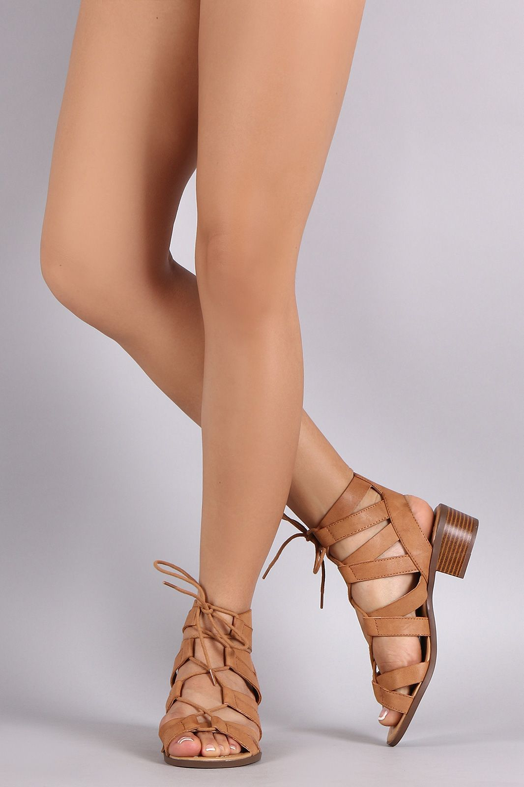 aa69393adcf Shop City Classified Strappy Lace Up Sandal. This edgy sandal features an  open toe