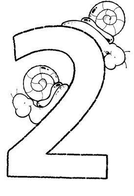 Aprender Los Numeros Del 1 Al 5 El Numero 2 Aprendizaje De Los