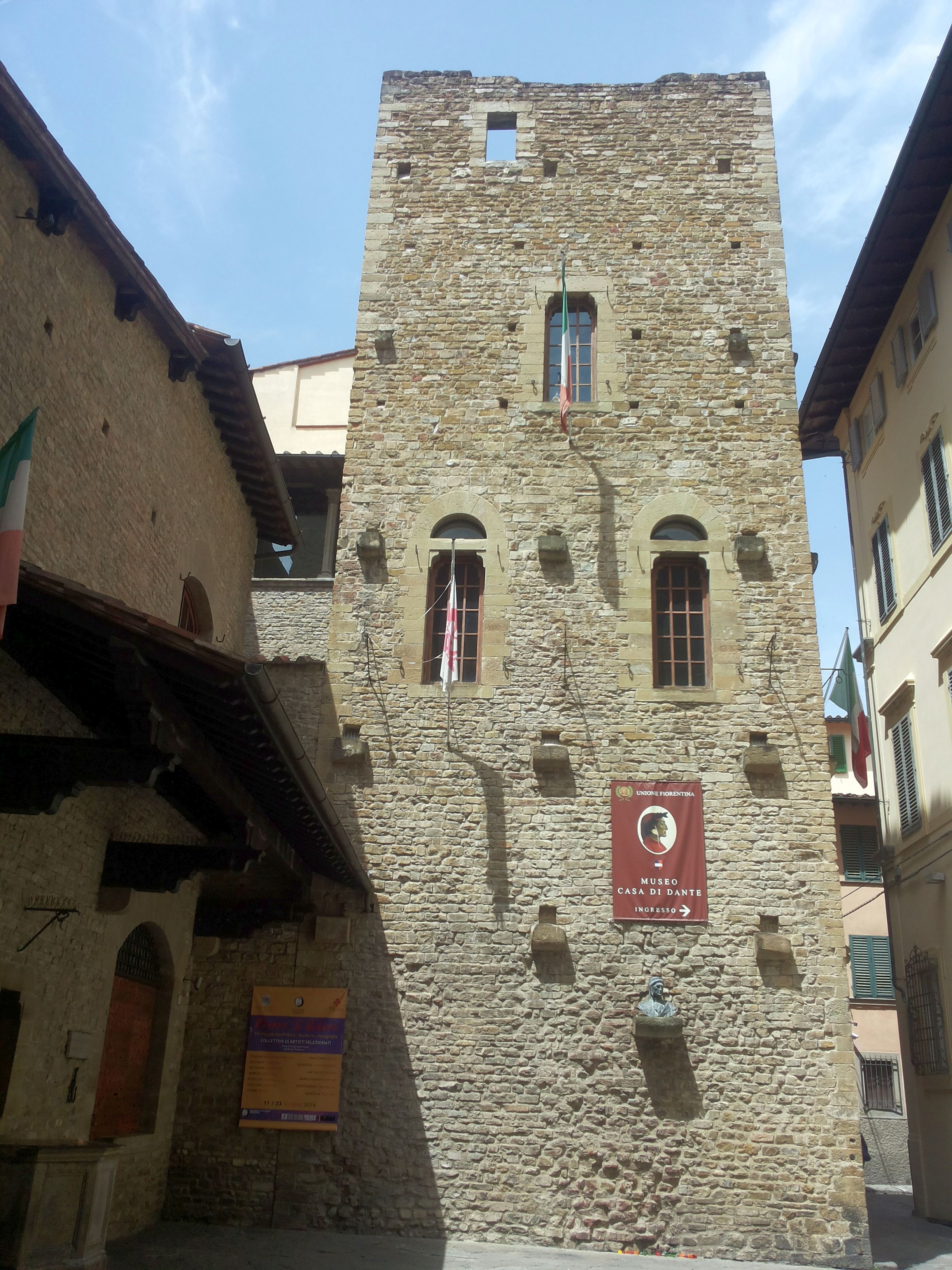 Museum And House Of Dante Alighieri The Most Important Italian Poet Author Of The Divine Comedy Firenze Belle Foto Foto
