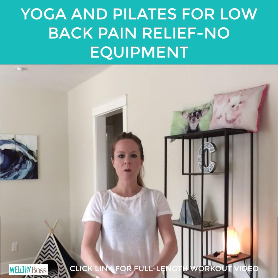 Yoga & Pilates for Lower Backs