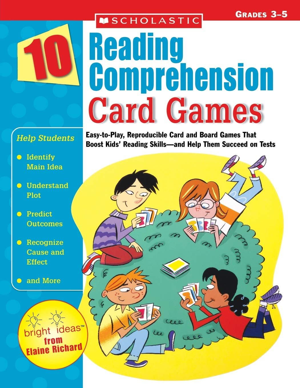 Free 10 Reading Comprehension Card Games By Scholastic Reading Comprehension Reading Skills Kids Reading [ 1360 x 1051 Pixel ]
