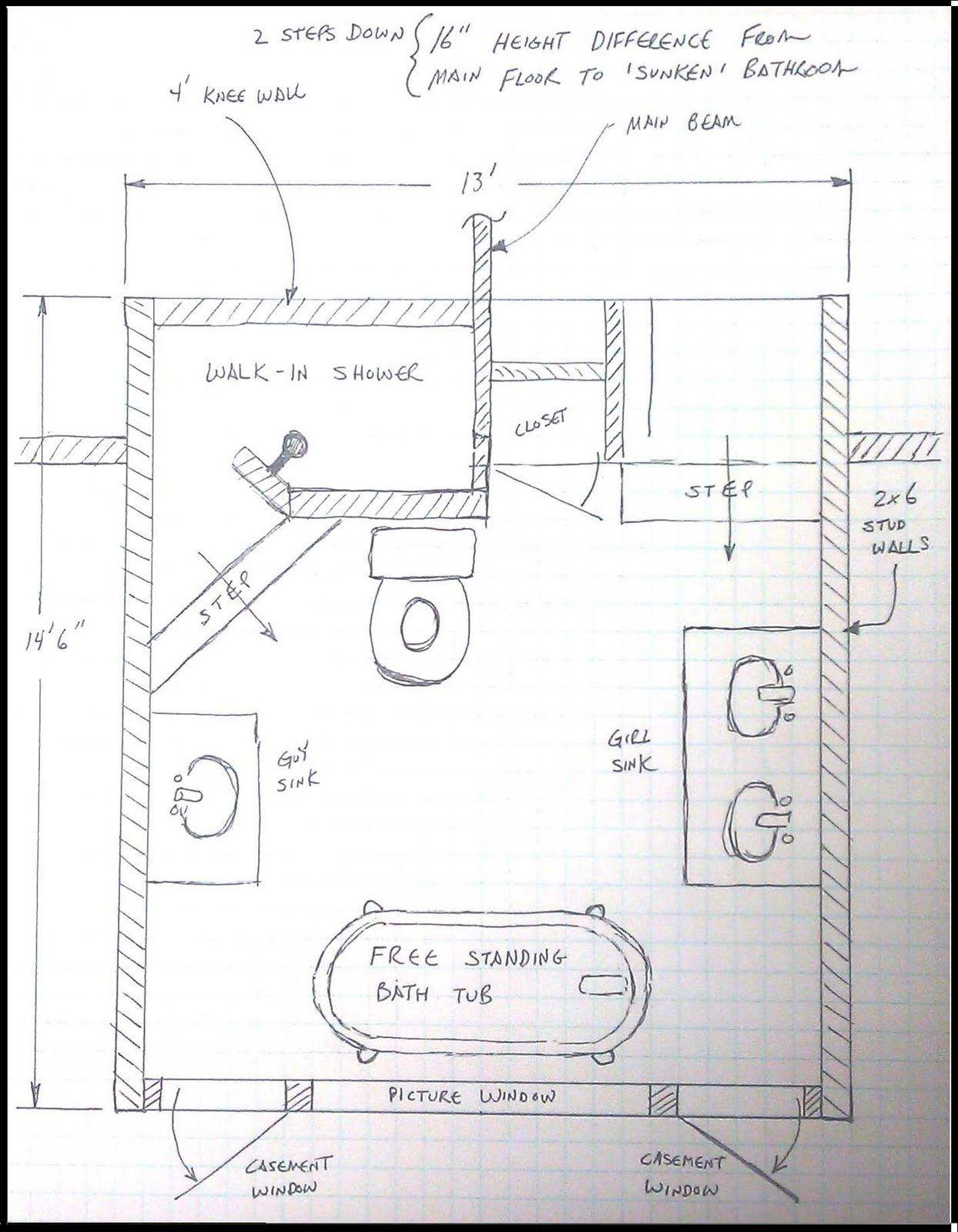 Kleines badezimmer design 5 'x 6' floor plan layout large shower bathroom  very best small bathroom