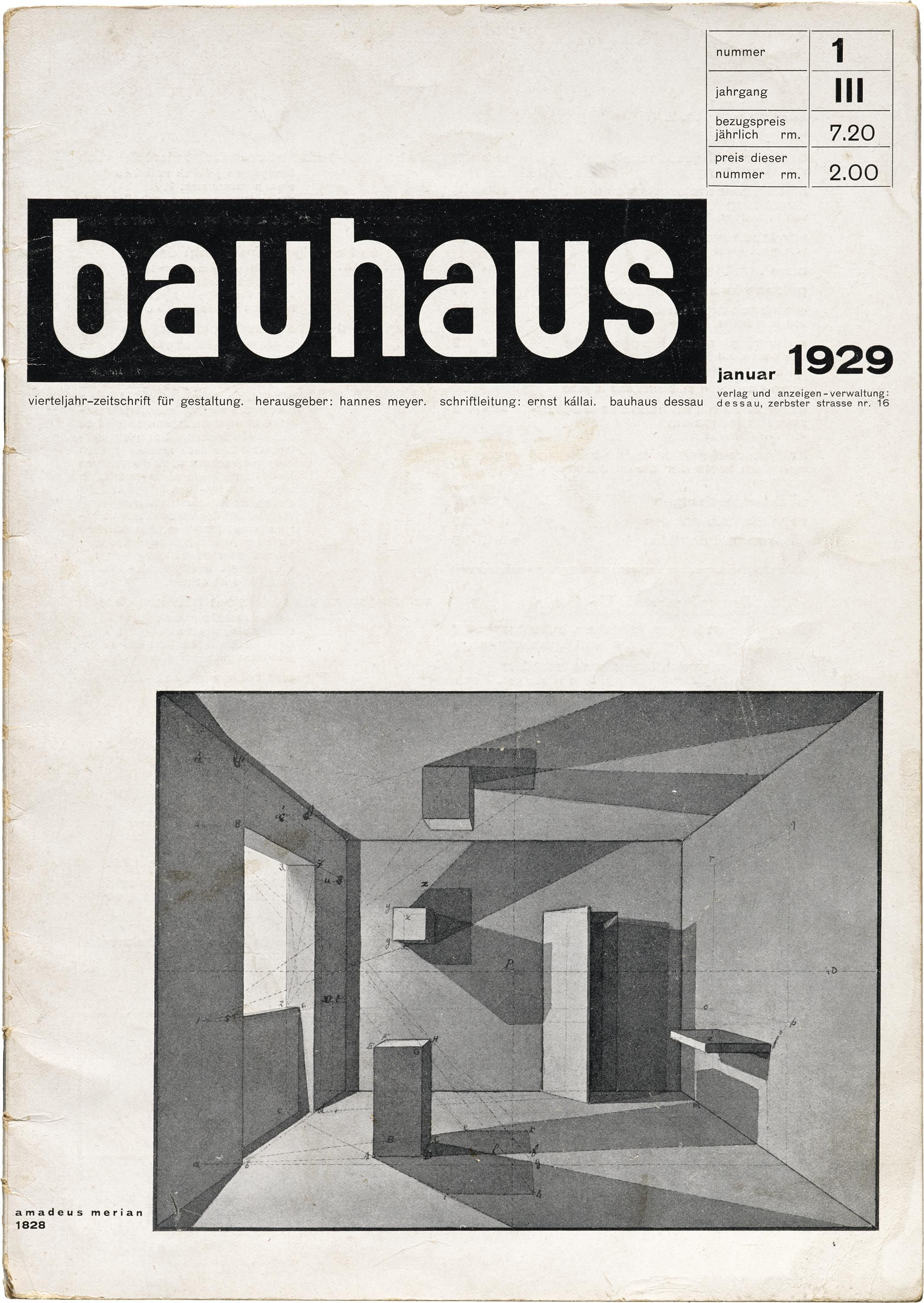 Periodicals As Collections No 2 Bauhaus Letterform Archive Bauhaus Bauhaus Design Modern Graphic Design