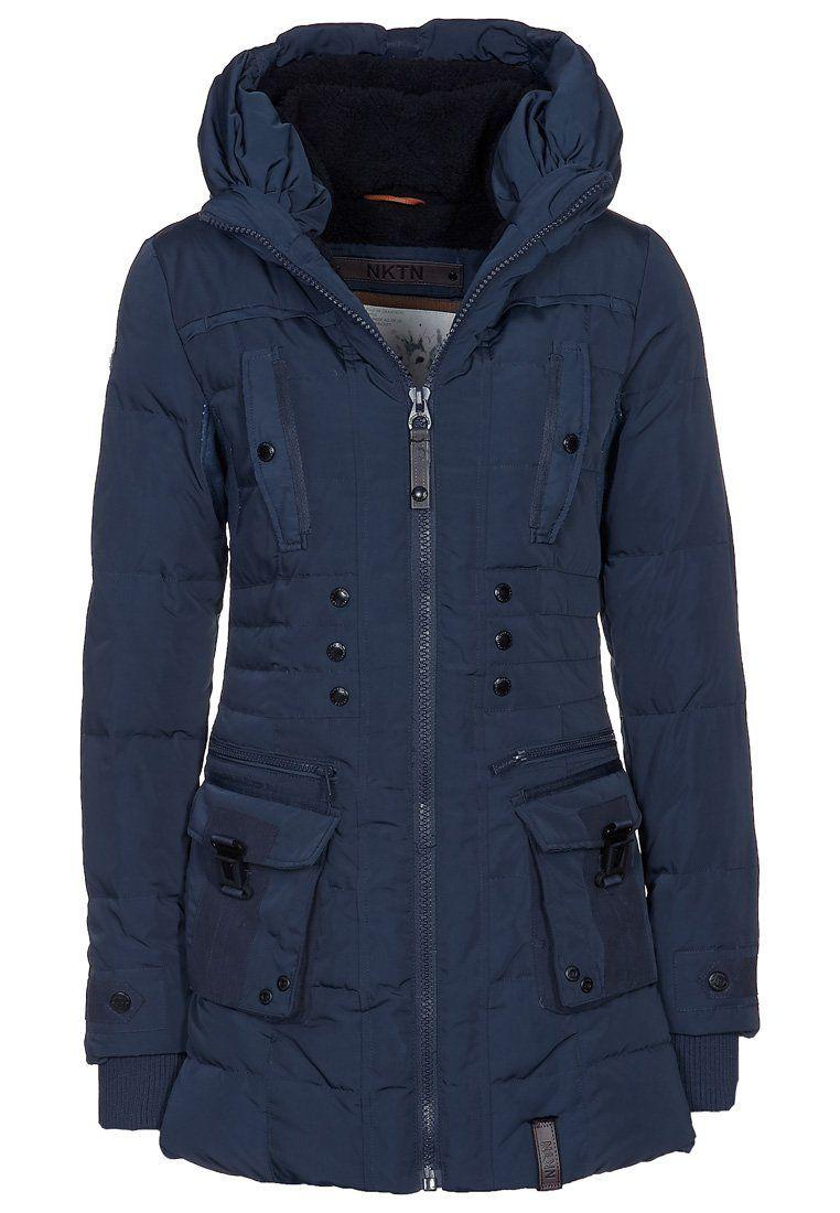 Naketano MUTANTINA - Winter jacket - blue Moda Sostenible 569e8c94abd