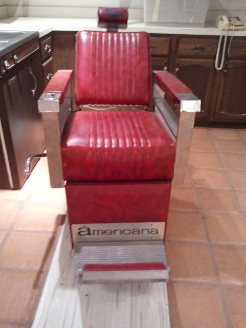 1930s Koken Barber Chair with a criminal past! | Barber chair | Pinterest | Antique  appraisal - 1930s Koken Barber Chair With A Criminal Past! Barber Chair