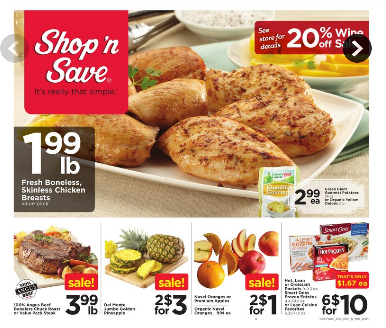 Shop N Save Weekly Ad December 6 12 2017 Http Www Olcatalog Com Sns Shop N Save Weekly Ad Html