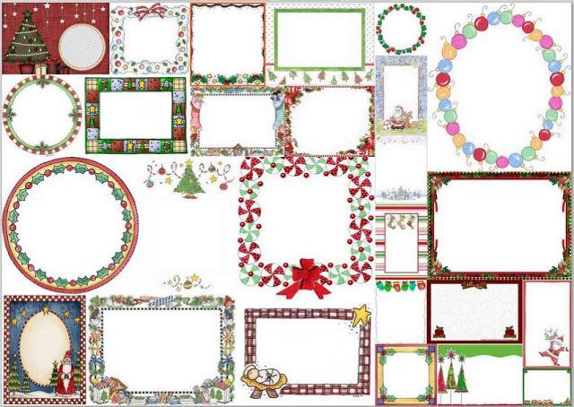 Marcos para Navidad para Imprimir Gratis. | Ideas y material gratis ...