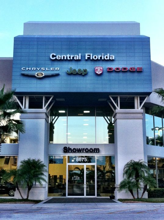 Central Florida Chrysler Jeep Chrysler Jeep Dodge Challenger