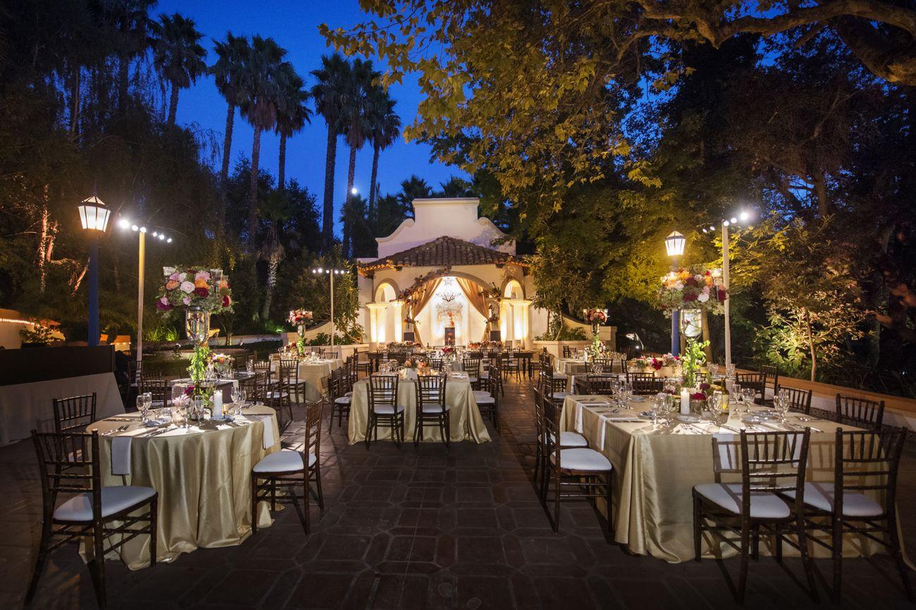 Rancho Las Lomas | El Teatro dining champagne gold dining ...