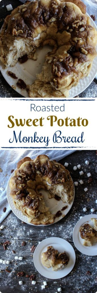Roasted Sweet Potato Monkey Bread   Pillowy, sweet ...