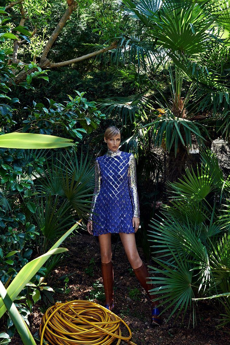 Tereza poses for Branislav Simoncik in all Dior looks