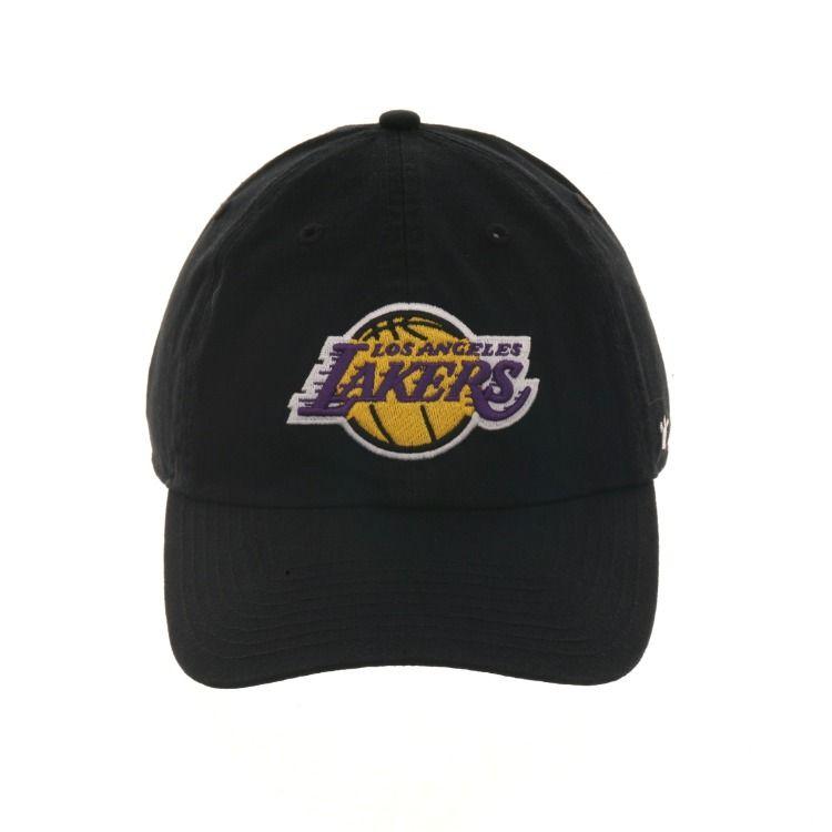 big sale afcf4 2db3a 47 Brand Cleanup Los Angeles Lakers OTC Adjustable Hat - Black,   28.00