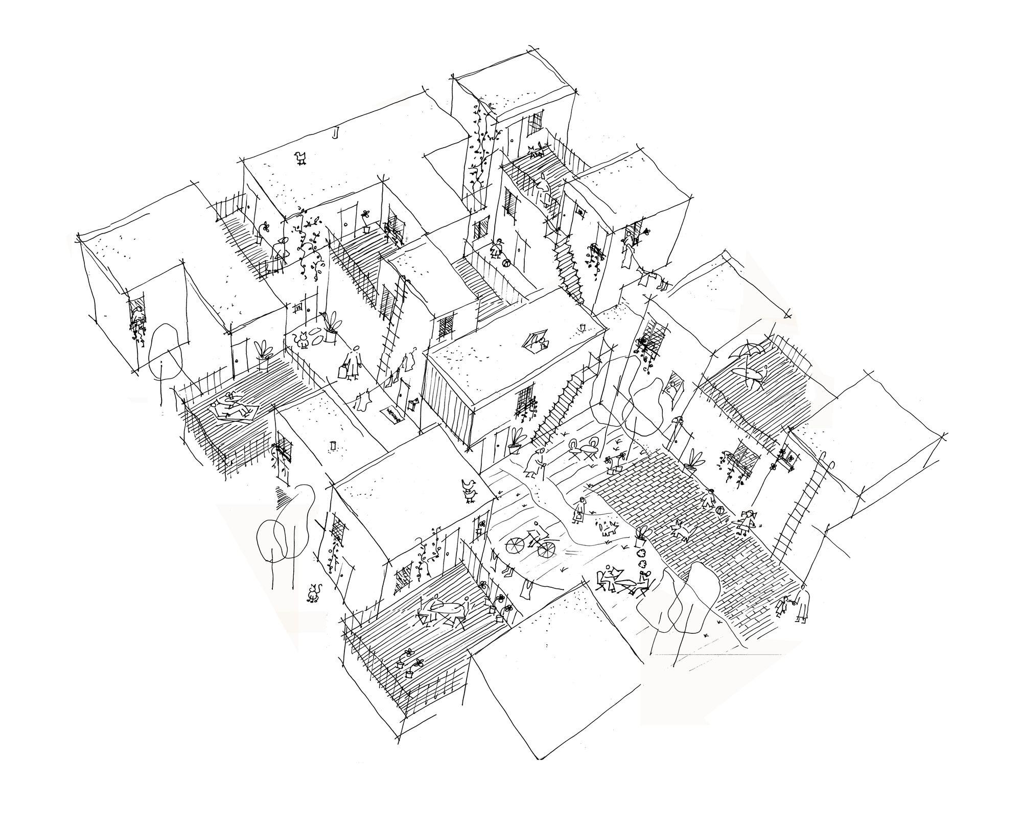 Centre Village Architecture Cohlmeyer