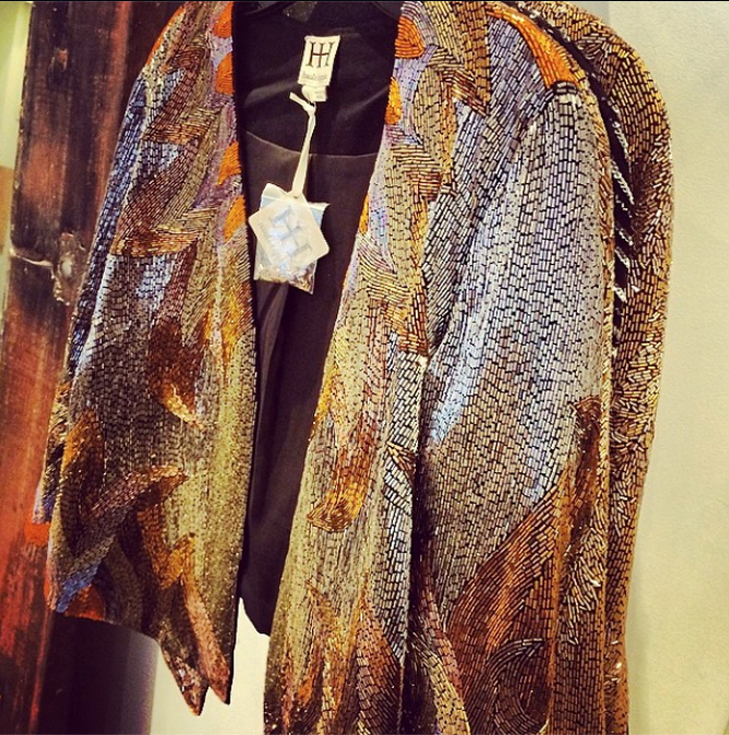 Shop sequin & beaded jackets like this & more at the Haute Hippie ...