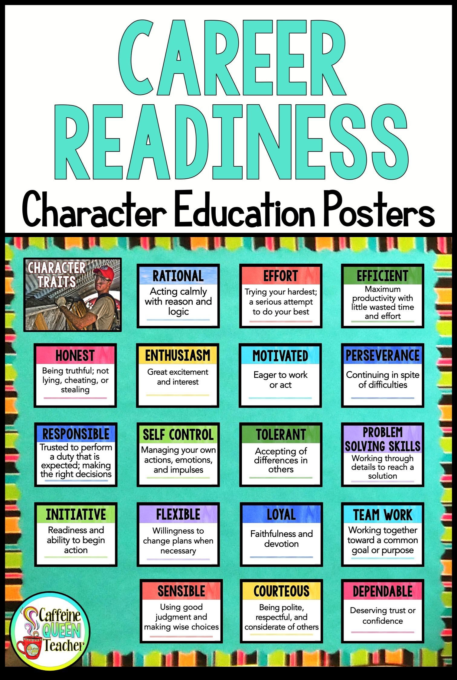 Career Exploration And Character Education Activities And