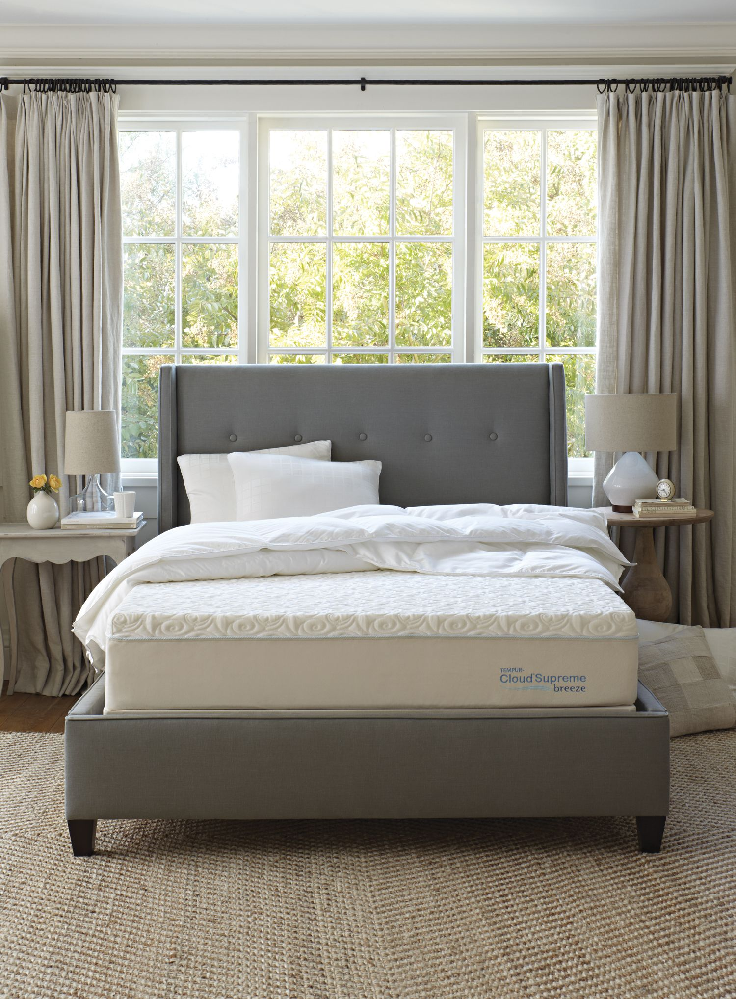 The Cloud Supreme Breeze #sylvanfurniture The U… | Sylvans Mattress ...