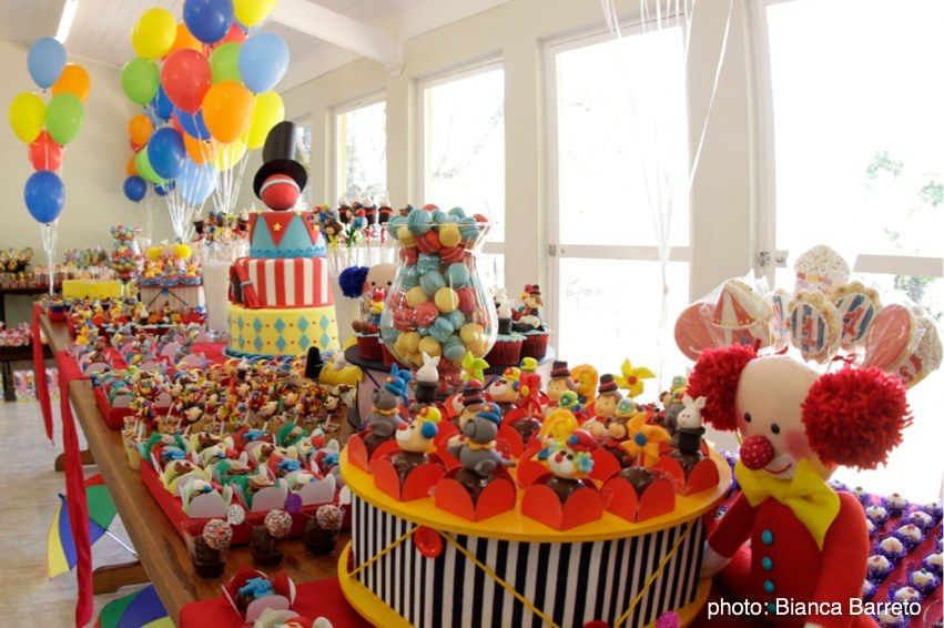 Good Circus Theme Decoration Ideas Part - 2: Circus Party Ideas