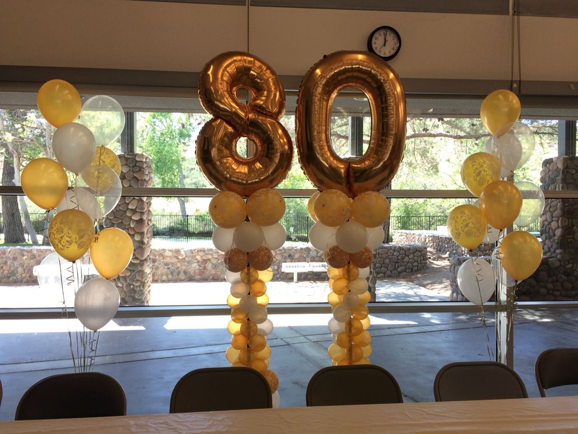 80th birthday pinteres for 80th decoration