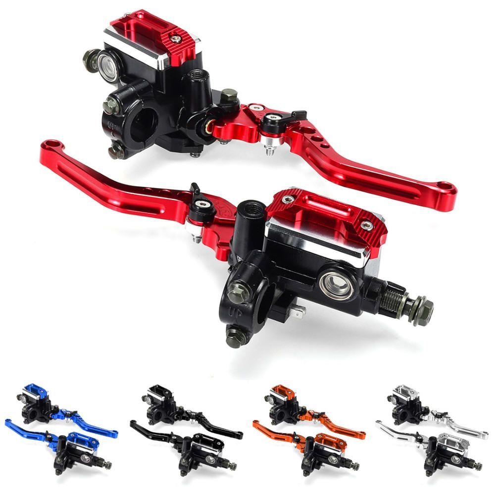 "Motorcycle ATV Dirt Bike 7//8/"" Hydraulic Clutch Lever Master Cylinder Brake Pump"