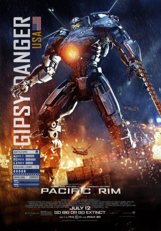PACIFIC RIM - Check out Gipsy Danger and Otachi: Category ... Pacific Rim Gipsy Danger Poster