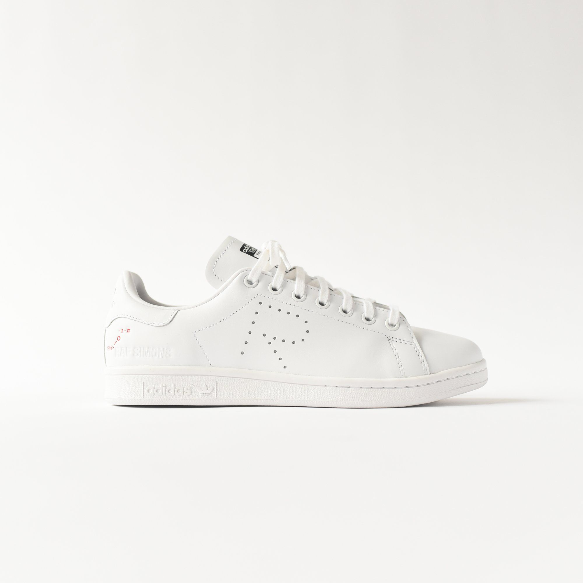detailed images ever popular catch adidas by Raf Simons Stan Smith - White - 8 | schoenen in 2019 ...