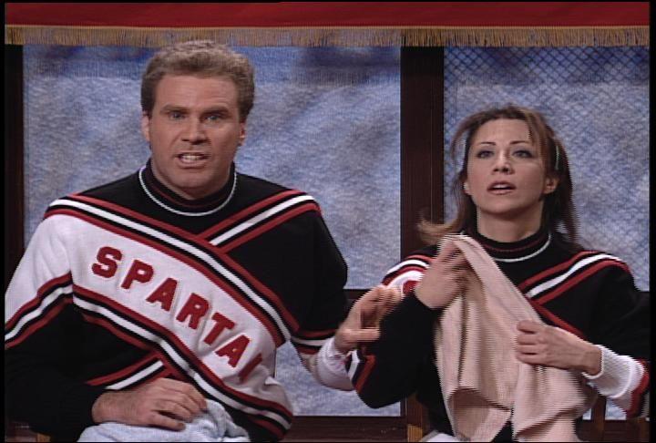 Will ferrell snl spartan cheerleader video — 2