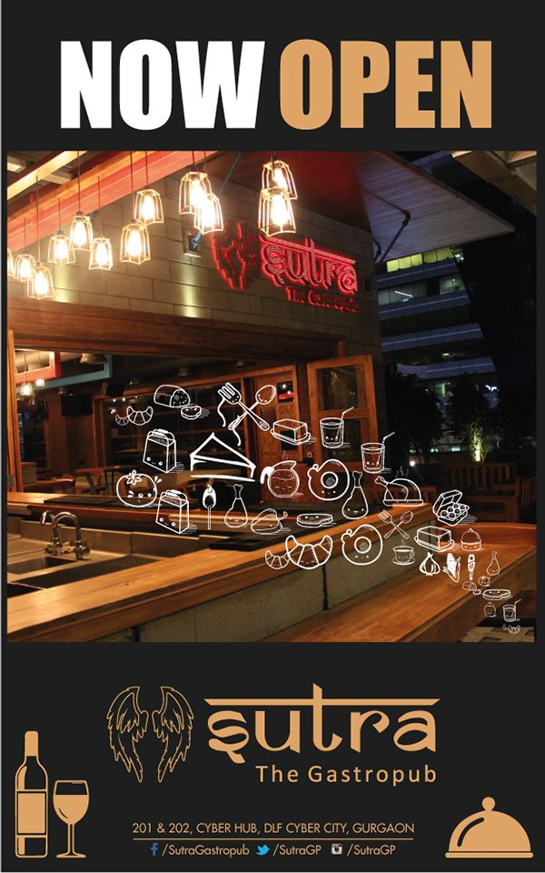 standee designs for the multi cuisine restaurant bars - Multi Restaurant Design