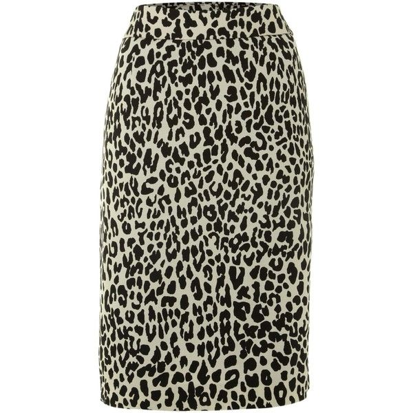 Episode High waisted pencil skirt ($34) ❤ liked on Polyvore featuring skirts, leopard print, zipper skirt, leopard skirt, cheetah print skirt, high-waisted skirts e zipper pencil skirt