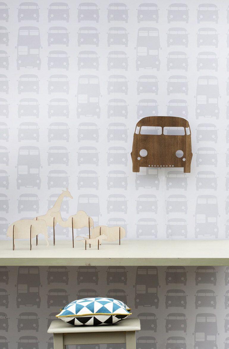 Wooden Camper Van Light by Ferm Living @ designvintage.co.uk