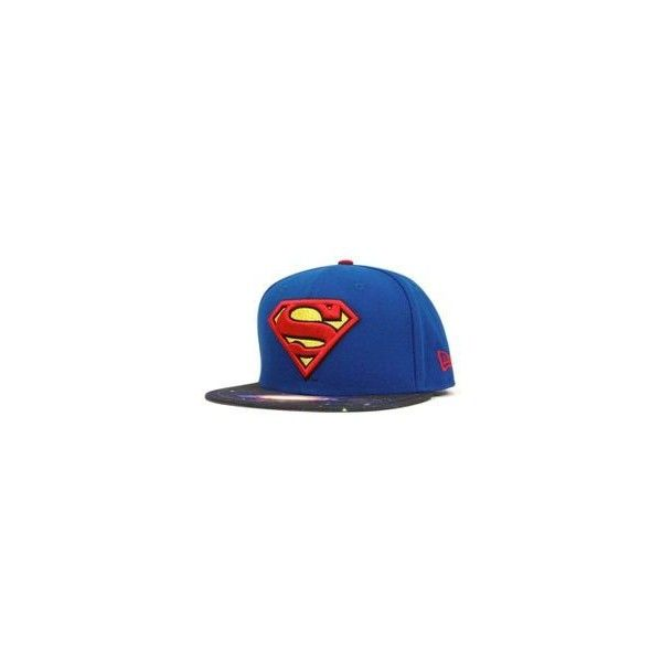 19009b41d47 Daredevil Symbol 59Fifty Fitted Baseball Cap by MARVEL x NEW ERA ❤ liked on  Polyvore featuring