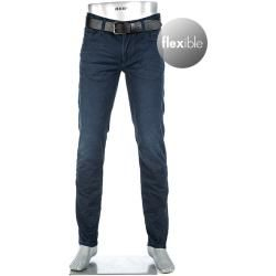 Photo of Alberto Herren Jeans Hose Pipe, Regular Slim Fit, Baumwoll-Stretch T400 9oz, blau Alberto