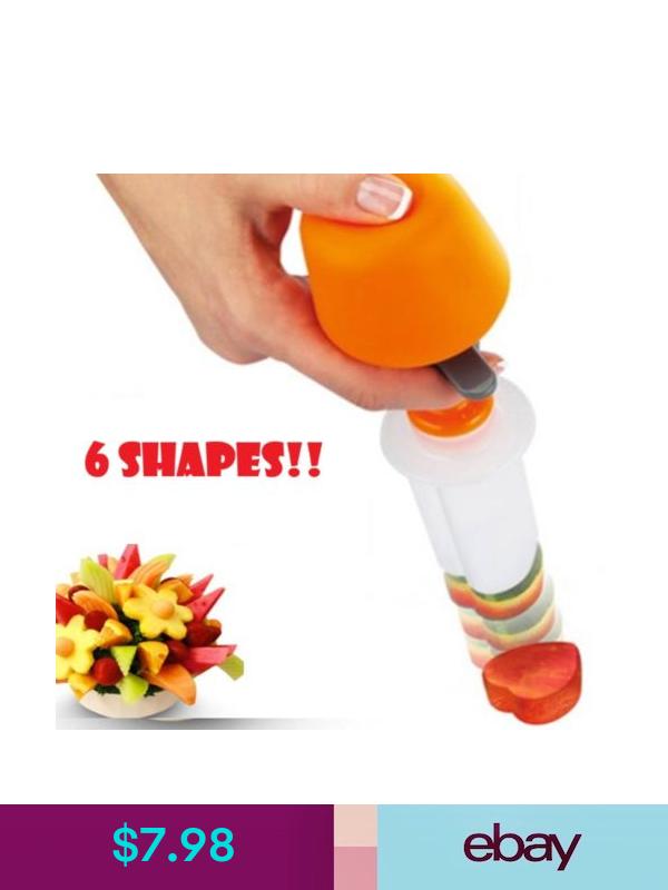 HOT 6 Shape Fruit Maker Kitchen Tool Chef Food Cutter Salad Kitchen Gadget