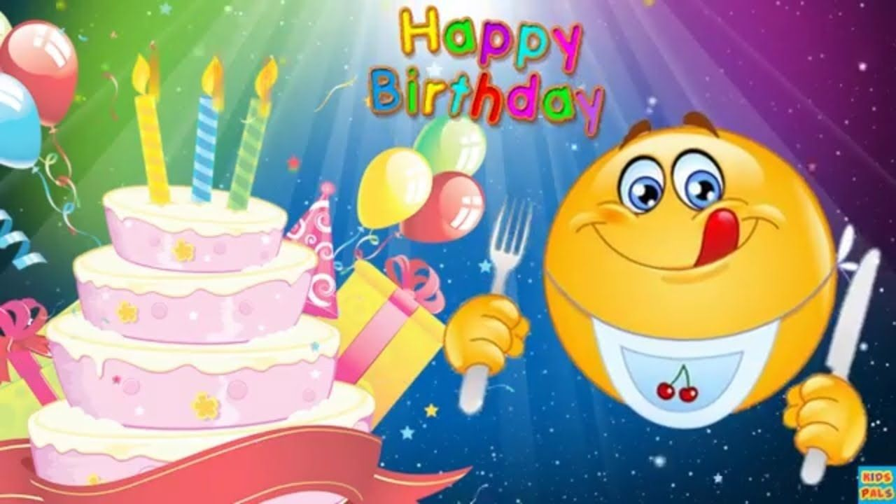 Happy Birthday Song Smiley Happy Birthday Song Emoji Smiley