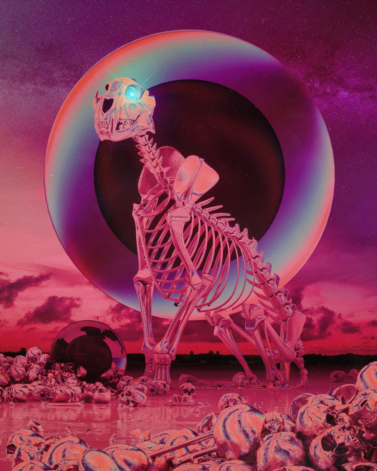 beeple   | Art ❦ | Art, Surreal art, Skull art