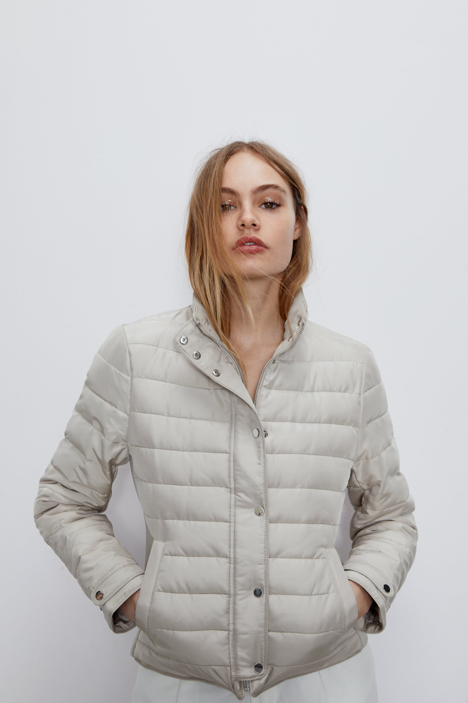 Lightweight Puffer Jacket Comfortemp Freudenberg Zara United States [ 1500 x 1000 Pixel ]