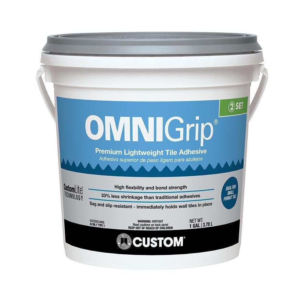 Custom building products omnigrip 1 gal maximum strength