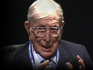 "John Wooden: The difference between winning and succeeding | Talk Transcript | TED.com George Moriarity - ""Giving all, it seems to me, is not so far from victory."""