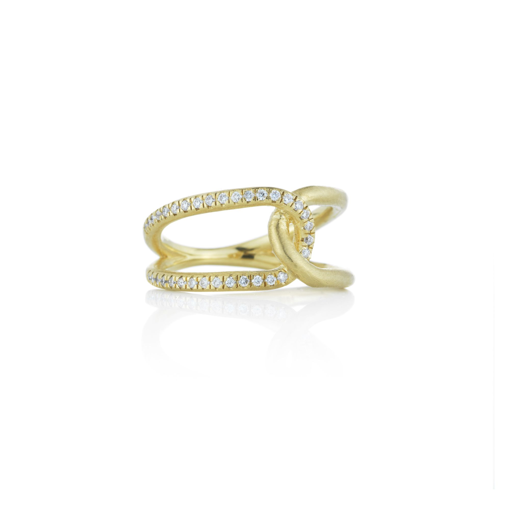 Love Knot Diamond Ring | Brooke Gregson