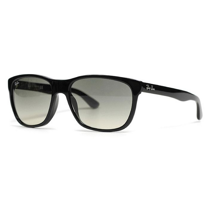 Ray-Ban RB4181F-901-32 Highstreet Black Grey Lens 54mm Sunglasses New In Box  Our Price  84.95 8376830707ad
