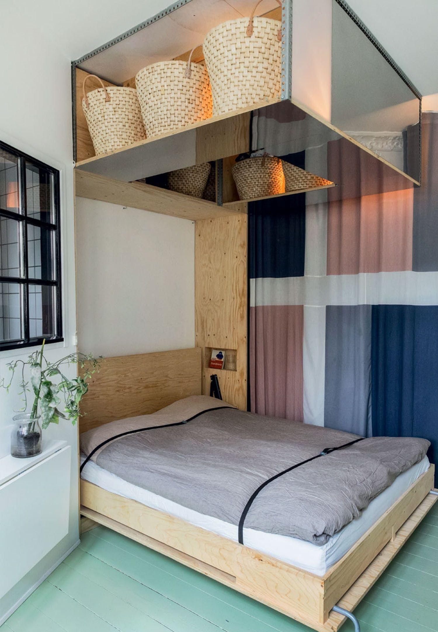 Multifunktionelt Familiehjem Pa Osterbro Indretning Sma Lejligheder Sovevaerelsesdesign Minimalistisk Sovevaerelse
