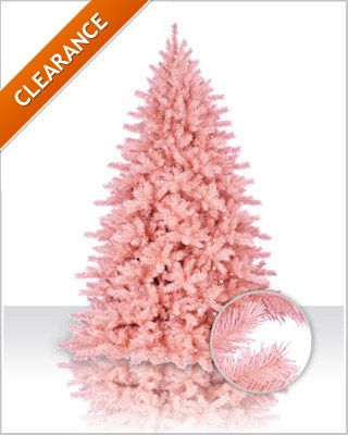 Powder Pink Tree Needs Hot Pink Ornaments I Luvs Christmas
