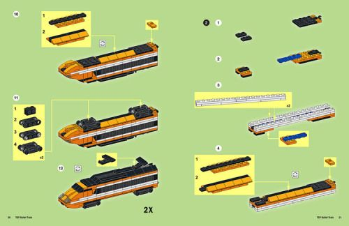 Lego Tgv Train Instructions Lego Pinterest Lego Lego Trains
