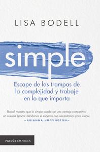 Descargar Simple Pdf Gratis Lisa Bodell Leer En Linea Libros De Negocios Pdf Libros