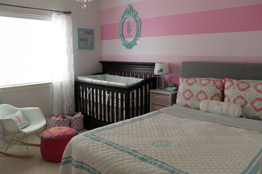 Pink Dresser Girls Room