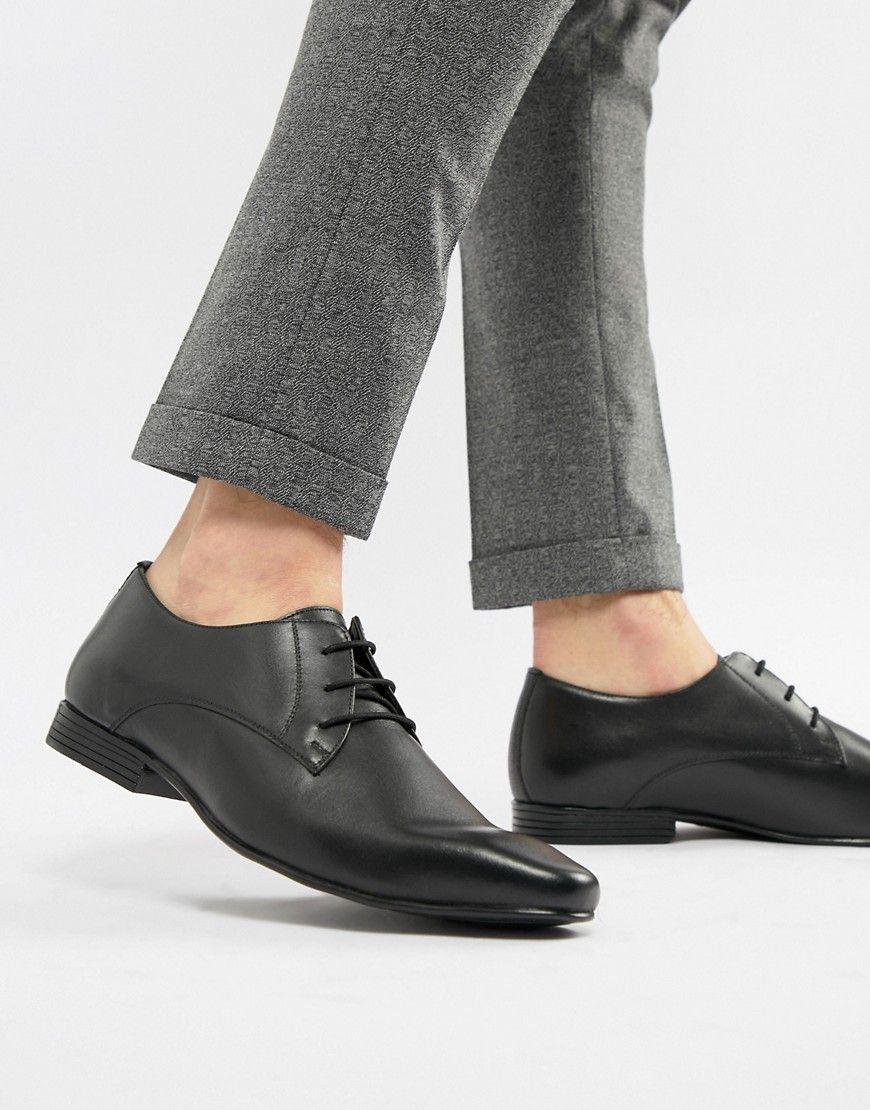 1e3dda2b1ec KG KURT GEIGER KG BY KURT GEIGER KENDALL DERBY SHOES BLACK LEATHER - BLACK.   kgkurtgeiger  shoes