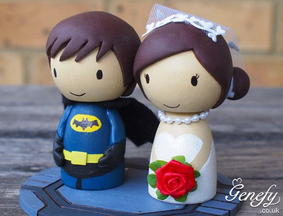 superhero wedding cake topper batman and wedding cake topper 20609